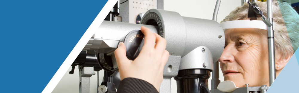 Macular degeneration eye testing